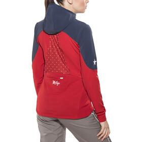 Maloja NovaraM. Nordic Hooded Jacket Women red poppy